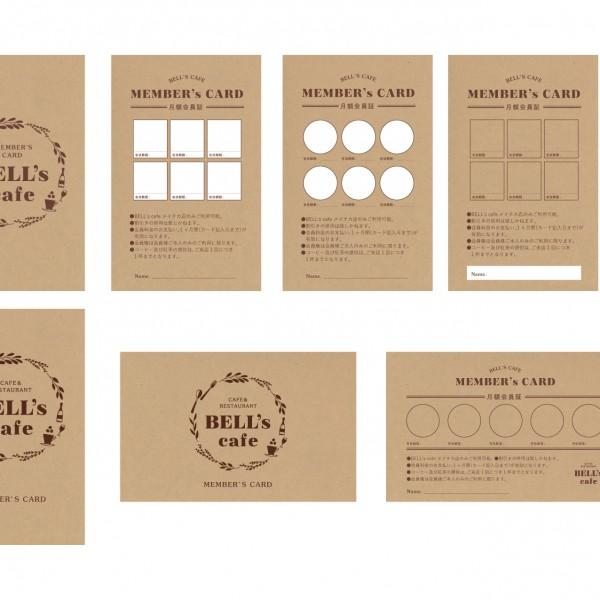 名古屋 BELL's cafe ベルズカフェ様/カード製作