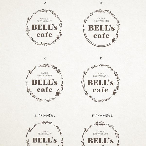 名古屋 BELL's cafe ベルズカフェ様/ロゴマーク提案